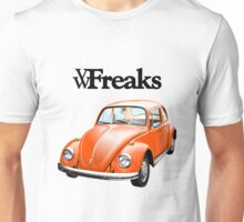Das VW-Freaks Orange Beetle (No BG) Unisex T-Shirt