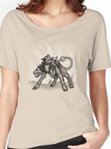 Steampunked Cerberus Women's Relaxed Fit T-Shirt