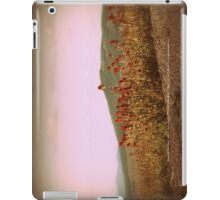 paintbrush wildflowers & mountains near Johnston's Ridge iPad Case/Skin