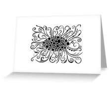 Eye Of Doodle Greeting Card