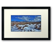 Winnemucca Ranch Valley Framed Print