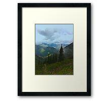 Glacier National Framed Print