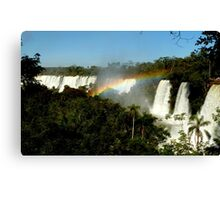 wonderful Iguassu Falls Canvas Print