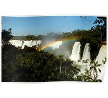 wonderful Iguassu Falls Poster