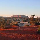 Uluru at Sunrise, Australia by KelPhotography