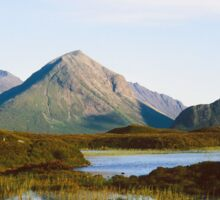 The Cuillin Hills in the Western Isles Sticker