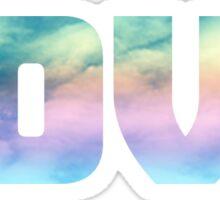 L O V E Sticker