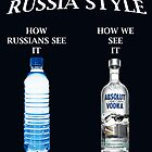Russia Vodka style by worldart