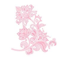 Pink Flower v2 by Lulochi