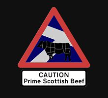 Caution Prime Scottish Beef Hoodie