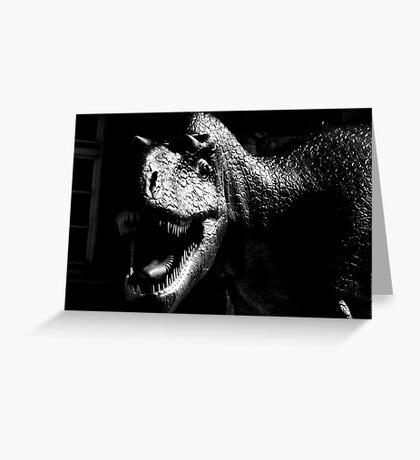 Dinosaur VRS2 Greeting Card