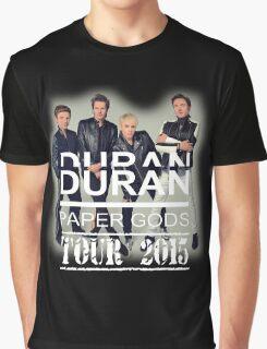 DURAN DURAN PAPER GODS Graphic T-Shirt