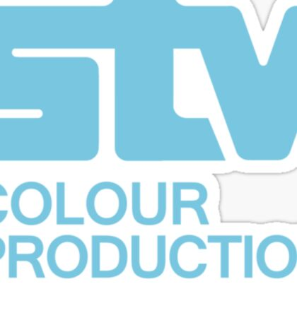 Scottish Television - STV Colour Production Sticker