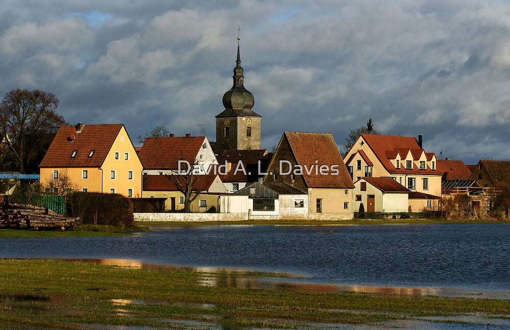 Uehlfeld in Franconia, Germany. by David A. L. Davies