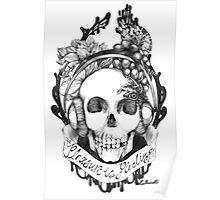 Hipster Vanitas Poster