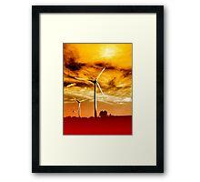 Wind Park Mills VRS2 Framed Print