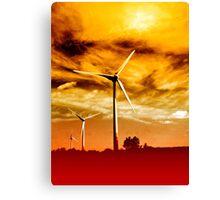 Wind Park Mills VRS2 Canvas Print