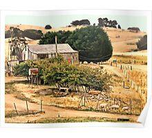Rural scene at my back door.. Poster