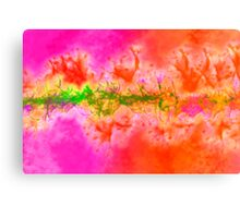 Abstract from skin Canvas Print