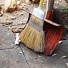 Kehrwoche - Broom & Shovel by vivendulies