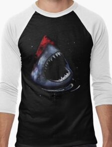 12th Doctor Who Star/Space Shark T-Shirt Ver. 2 Men's Baseball ¾ T-Shirt