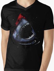 12th Doctor Who Star/Space Shark T-Shirt Ver. 2 Mens V-Neck T-Shirt