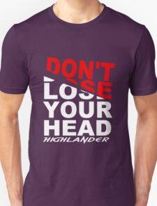 Highlander Movie Decapitation logo T-Shirt