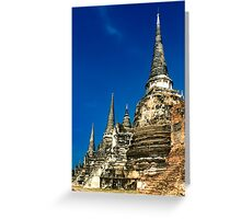 Historic City, Thailand Greeting Card
