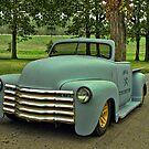 1950 Chevrolet Custom Pickup Truck Convertible by TeeMack