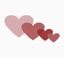 Patchwork Hearts Kids Tee