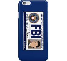 Castiel's FBI Badge iPhone Case/Skin