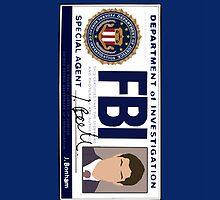 Dean's FBI Badge by blainageatrois