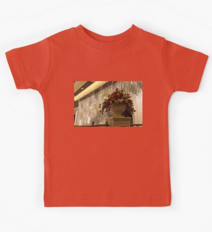 Of Flower Arrangements and Sparkling Crystals Kids Tee