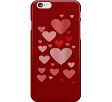 Patchwork Hearts iPhone Case/Skin