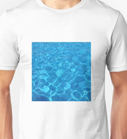 waves gently splashing on the beach - it's time to make a wish Unisex T-Shirt