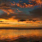 A  Lovely Sunset by Carolyn  Fletcher
