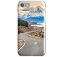 Mt Cook Drive iPhone Case/Skin