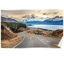 Mt Cook Drive Poster