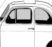 Fiat 500  Sticker