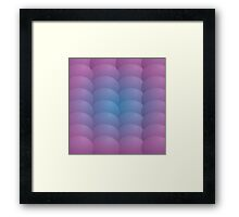 Scales-Purple Framed Print