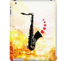 Sax and Love iPad Case/Skin