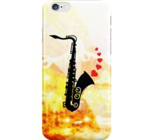 Sax and Love iPhone Case/Skin