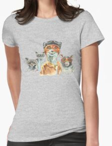 Fantastic Friends Womens Fitted T-Shirt