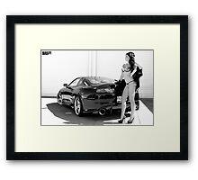 Supra Lady 2 (ver2) Framed Print