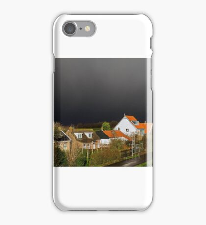 Threatening sky iPhone Case/Skin