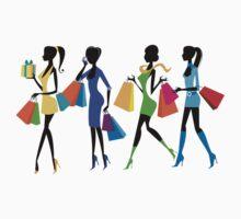 Shopping Girls T-Shirt