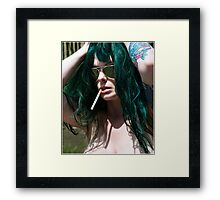 Rolling Stone Framed Print
