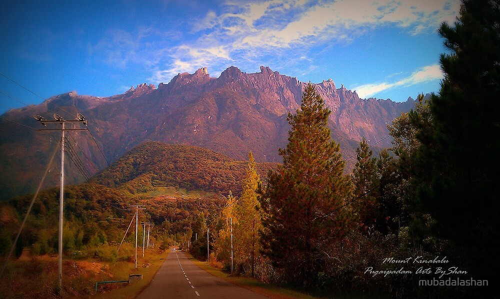 Mount Kinabalu World Heritage Site by mubadalashan