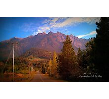 Mount Kinabalu World Heritage Site Photographic Print
