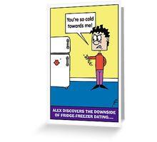 Alex Fridge Greeting Card